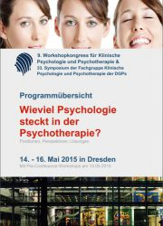 2015_Workshopkongress Klin. Psych u PT